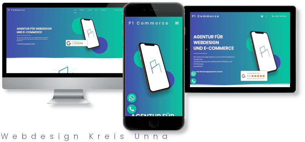 Webdesign Kreis Unna